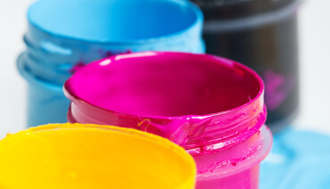 Dyes and printers