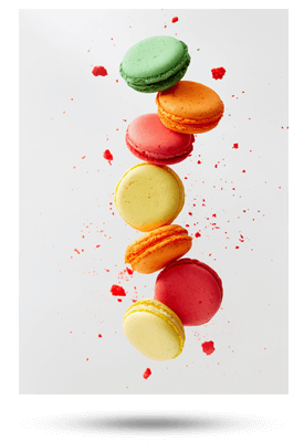 Copertina catalogo macarons 2018